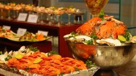 """Taste of world"" buffet in Liberty Central Saigon Center"