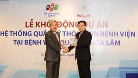 FPT IS cung cấp Hệ thống quản lý thông tin cho Bệnh viện quốc tế Hoa Lâm