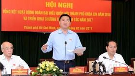 Kiên trì kiến nghị cơ chế đặc thù cho TPHCM