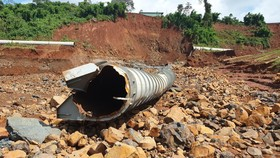 Thủy điện Đắk Kar chưa hoàn thiện đã vận hành thử