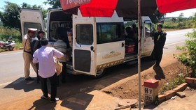 Phát hiện 8 cá thể khỉ bị giết trên xe khách ở Đắk Lắk