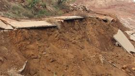 Đắk Nông: Sụt lún nghiêm trọng tại Khu công nghiệp Nhân Cơ