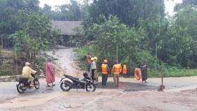 Bão số 12 gây mưa lớn, chia cắt nhiều khu vực ở Đắk Lắk