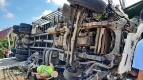Tai nạn liên hoàn trên đường Hồ Chí Minh khiến ít nhất 5 người thương vong