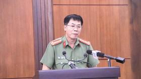 Đại tá Hồ Quang Thắng, thông tin về vụ việc người nước ngoài đang làm việc tại các dự án điện gió trên địa bàn tỉnh