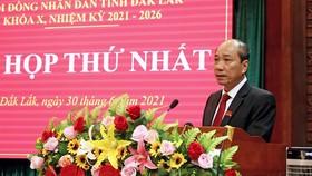 Ông Phạm Ngọc Nghị tái đắc cử chức Chủ tịch UBND tỉnh Đắk Lắk