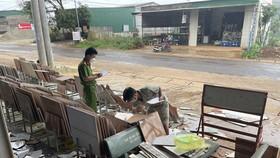 Triệu tập nhiều đối tượng đánh, đập phá tài sản của người dân ở Đắk Nông