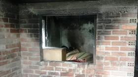 Một cụ bà bị chết cháy trong nhà