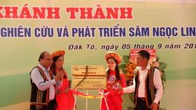 Thủ tướng Nguyễn Xuân Phúc dự khánh thành Trung tâm nghiên cứu sâm Ngọc Linh