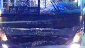 Xe khách và xe máy tông nhau, 3 người tử vong
