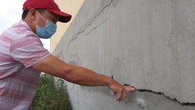 Đề nghị đánh giá nguyên nhân, khắc phục triệt để trường mới sửa lại nứt toác