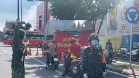 HCMC sees successful first day of military-manned travel restrictions