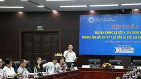 Các đại biểu góp ý hoàn thiện Báo cáo để xây dựng chính sách ngành CNTT-TT