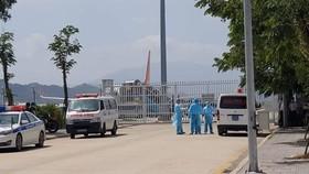 Ngành y tế đang phối hợp với các đơn vị liên quan đón, kiểm tra sức khỏe và cách ly 80 hành khách xuất phát từ Deagu (Hàn Quốc) về sân bay Đà Nẵng