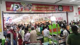Một bộ phận người dân  Đà Nẵng lo lắng ào ạt đến các siêu thị, Trung tâm thương mại để mua sắm tích trữ hàng hóa