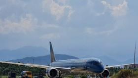 Máy bay chở 343 công dân Việt Nam về từ Nhật Bản đã hạ cánh an toàn tại Sân bay quốc tế Đà Nẵng