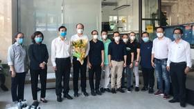 Lãnh đạo TP Đà Nẵng gặp mặt thân mật, tiễn đoàn y, bác sĩ TP Hồ Chí Minh