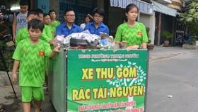CLB Môi trường nhí do CCB phường Thuận Phước xây dựng