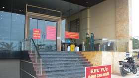 Một cơ sở cách ly người nhập cảnh trên địa bàn TP Đà Nẵng