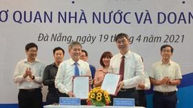 """Sở TT-TT TP Đà Nẵng và Viện Nghiên cứu cấp cấp về Toán ký kết Biên bản ghi nhớ hợp tác về """"Chuyển đổi số giai đoạn 2021 - 2025"""""""
