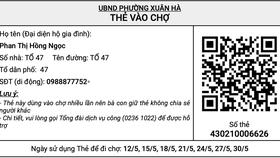Đà Nẵng thí điểm ứng dụng thẻ vào chợ QR-Code từ ngày 24-5 tại 5 phường