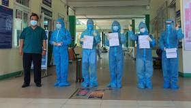 4 bệnh nhân ra viện tại Bệnh viện Phổi Đà Nẵng