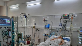 Khi có dấu hiệu mệt nhiều hơn, khó thở tăng, bệnh nhân mới nhập viện cấp cứu