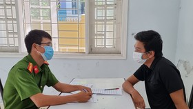 Lực lượng chức năng bắt giữ Nguyễn Anh Tùng