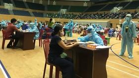 Một điểm tiêm vaccine trên địa bàn TP Đà Nẵng