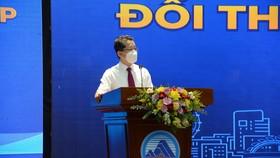 Ông Nguyễn Văn Quảng, Bí thư Thành ủy Đà Nẵng phát biểu bế mạc chiều 24-9