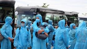 Đà Nẵng: 4 đối tượng tại TPHCM được phép về địa phương