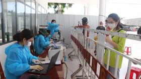 Chốt kiểm dịch cửa ngõ TP Đà Nẵng ở quận Ngũ Hành Sơn