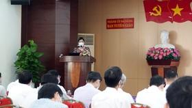 Bà Mai Thị Thu, Phó Trưởng Ban Tuyên giáo Thành ủy Đà Nẵng, Phó Trưởng Ban tổ chức cuộc thi phát động cuộc thi