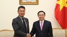 Phó Thủ tướng Vương Đình Huệ hoan nghênh Công ty Alliex Hàn Quốc đến Việt Nam đầu tư