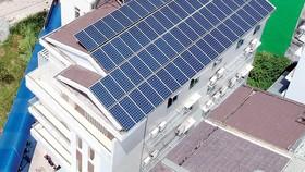 Xúc tiến phát triển điện mặt trời áp mái
