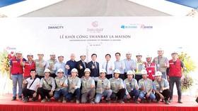 Hòa Bình trúng thầu dự án Swanbay La Maison trị giá hơn 700 tỷ đồng