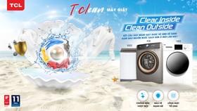 3 dòng máy giặt T-Clean được TCL ra mắt lần đầu tại Việt Nam