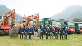 Hòa Bình làm nhà thầu chính tại dự án khu TTTM, khách sạn và nhà ở Shophouse Vincom Hà Giang