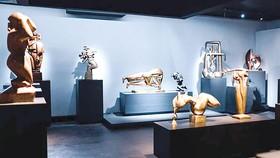 Nhà điêu khắc Tạ Quang Bạo mở triển lãm cá nhân