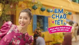 """Hình ảnh Co.opmart trong MV """"Em chào Tết"""""""