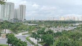 Một góc Khu đô thị mới Thủ Thiêm, quận 2, TPHCM. Ảnh: PHAN NGUYỄN