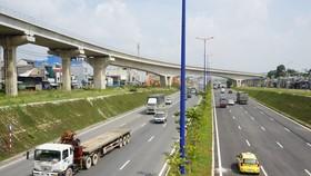 Hệ thống cầu vượt tại nút giao Đại học Quốc gia TPHCM