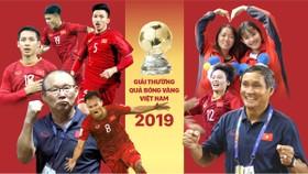 Lễ trao giải thưởng sẽ vinh danh nhà cầm quân Park Hang-seo, Mai Đức Chung và các tài năng bóng đá Việt Nam. Infographic: HỮU VI