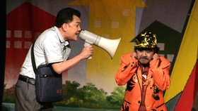 Suất diễn đầu tiên của Sân khấu kịch Idecaf cháy vé  với vở kịch Ác nhân cốc