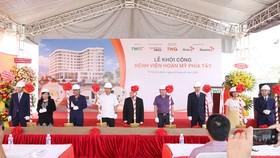 Khởi công bệnh viện đa khoa tiêu chuẩn quốc tế 350 giường bệnh ở phía Tây thành phố