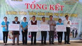 """Chương trình """"Đồng hành cùng phụ nữ biên cương"""" tại xã A Bung và A Ngo, tỉnh Quảng Trị"""