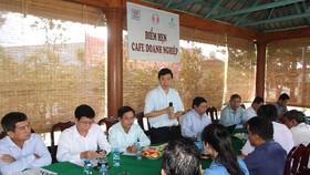 Lãnh đạo tỉnh Đồng Tháp gặp gỡ doanh nghiệp  để kịp thời tháo gỡ khó khăn vướng mắc