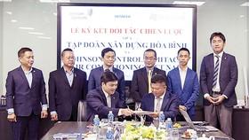 Hòa Bình ký kết hợp tác chiến lược với Công ty TNHH Johnson Controls - Hitachi Air Conditioning Việt Nam