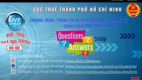 Cục Thuế TPHCM tư vấn về thuế trên mạng xã hội