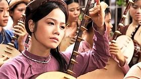 Cảnh trong phim Long Thành cầm giả ca, phim được làm từ kịch bản đoạt giải nhất trong cuộc thi viết về 1.000 năm Thăng Long - Hà Nội
